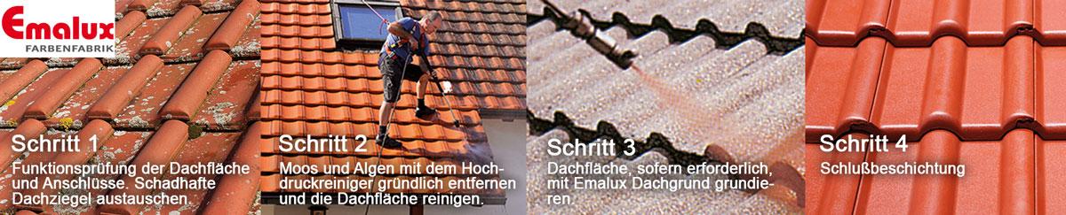 Emalux Dachfarben